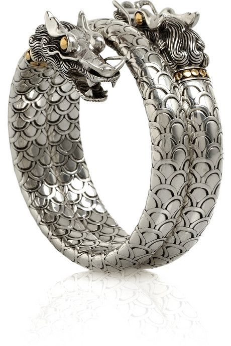 John Hardy bracelet, depicting a giant serpent creature called a naga that is part of many legends in SE Asia.