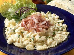 Pasta med spekeskinke og gorgonsola