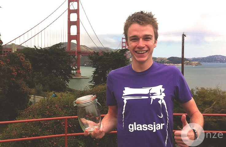 It was just months ago that we interviewed George from Glassjar. Now he's penetrating the US market with this startup.