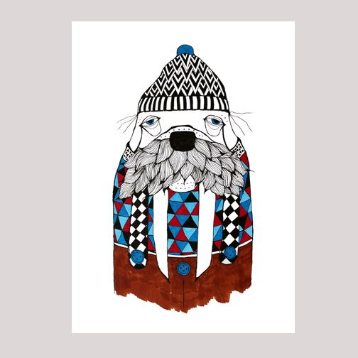 Tina Mose - Walter the Walrus - Great Ocean Road Gifts