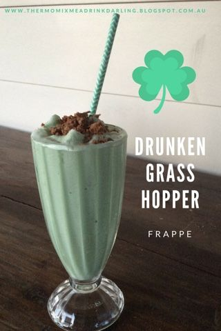 Thermomix Me A Drink Darling: Drunken Grasshopper