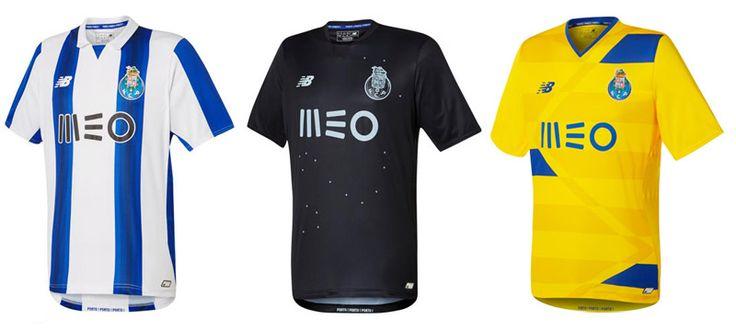 Camisas do FC Porto 2016-2017 New Balance