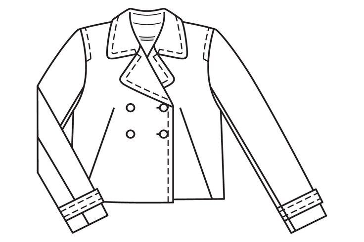 Burdastyle 05-2016-104 jacket, 17-21