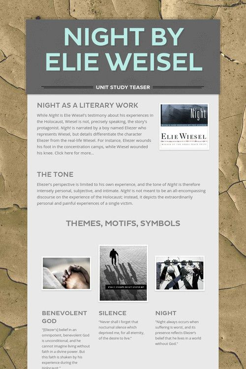 """a comparative analysis of the diary of anne frank and night by elie wiesel Literature, through a reading of two texts: tatiana bran's """"deadly confession"""", and elie wiesel's """"night"""" while the former looks at the violence visited upon women in the context of religion and faith, the latter elie wiesel's night is usually read against the diary of anne frank, where it is seen as being."""
