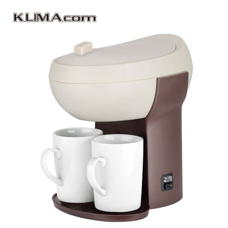 Auto power off function coffee machines for cups Unique Electric coffee maker 2 cup Kaffeemaschine 220-240V VDE plug
