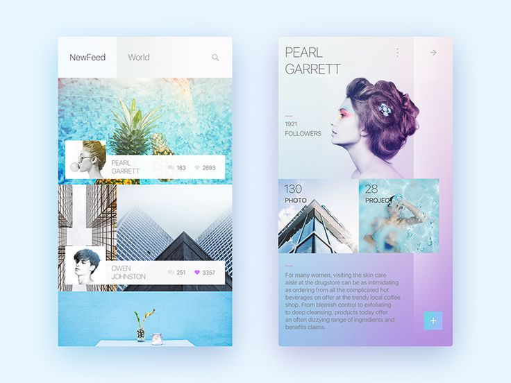 Photography Interface Concept