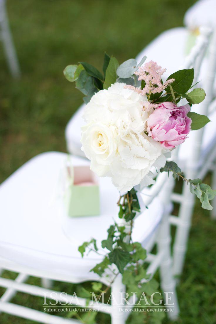 Aranjament hortensia si bujori IssaEvents