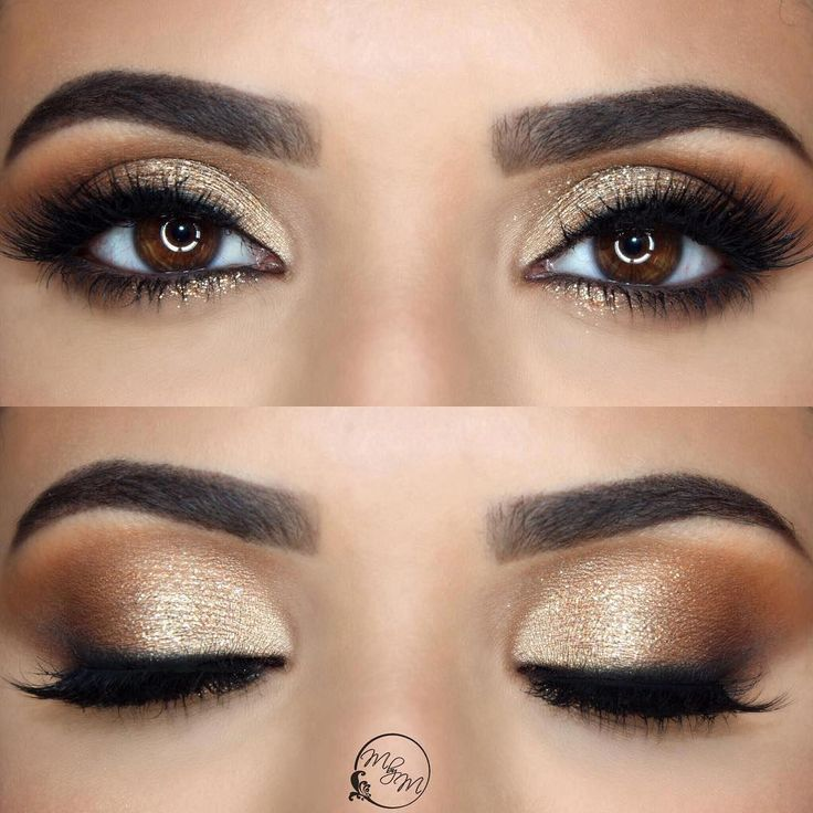 25 Stunning Looks All Brown-Eyed Girls Need to Try #Eyeshadows