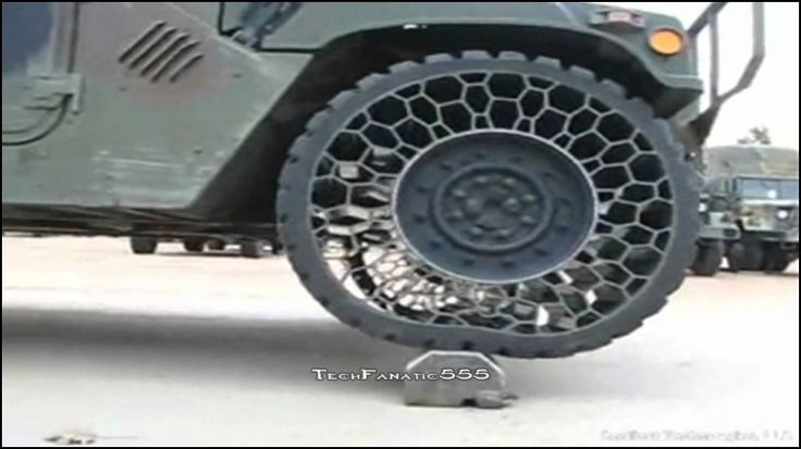 Flatless Car Tires