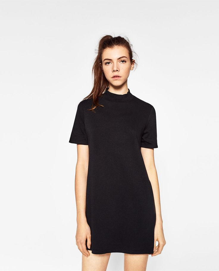 Image 2 de ROBE À COL MONTANT de Zara