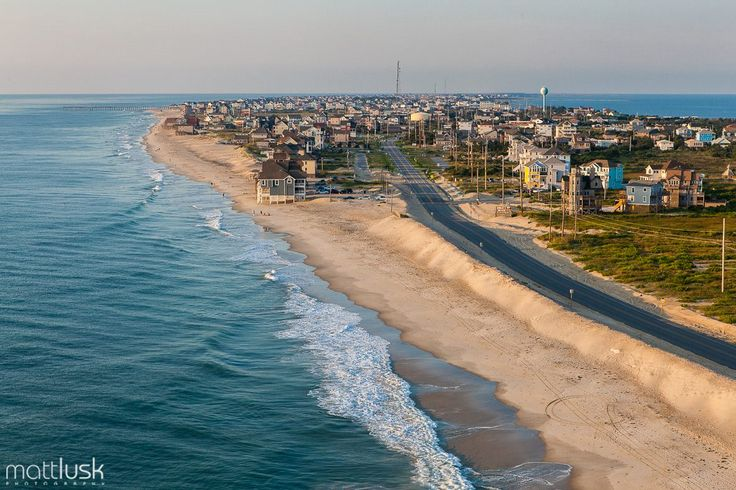 2011 Aerial View Of Mirlo Beach In Rodanthe Nc Photo Matt Lusk Photography Outer Banks