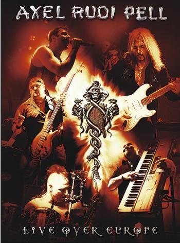 """Doppio DVD di #AlexRudiPell intitolato """"Live over Europe""""."""