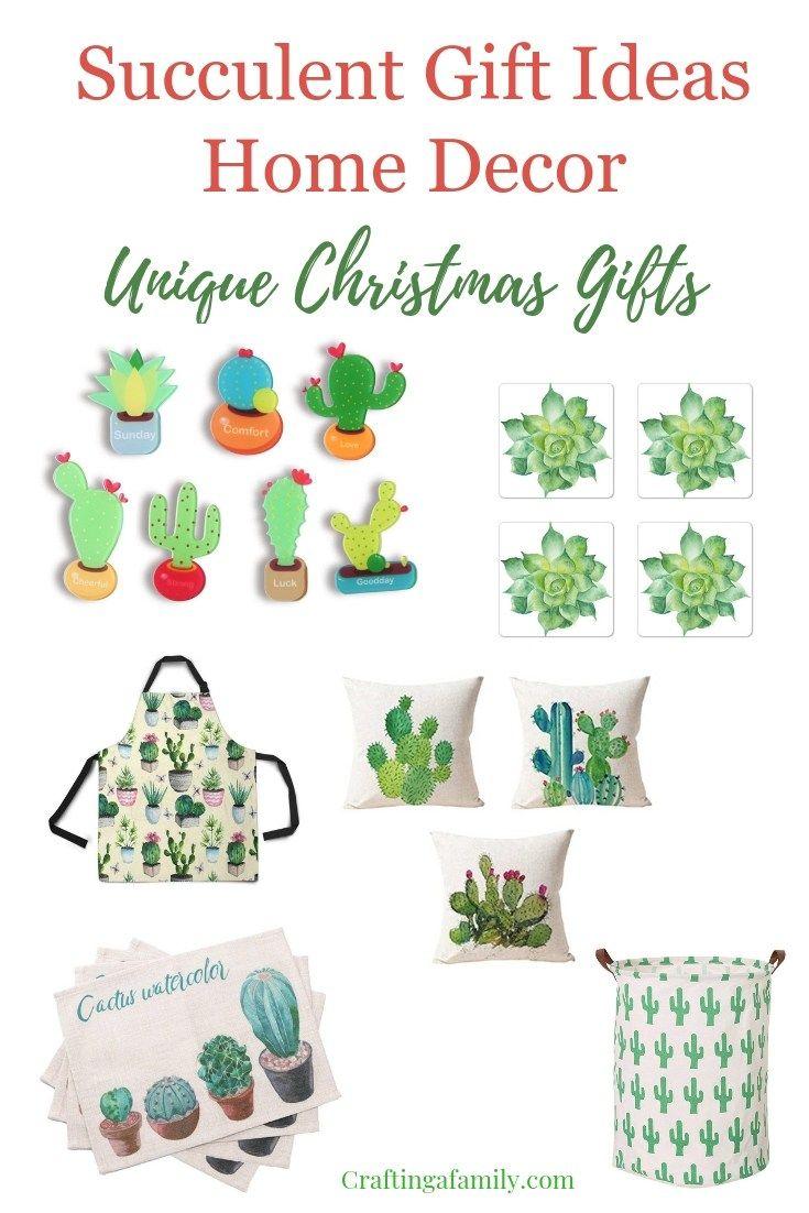 Home Decor Succulent Gift Ideas | \