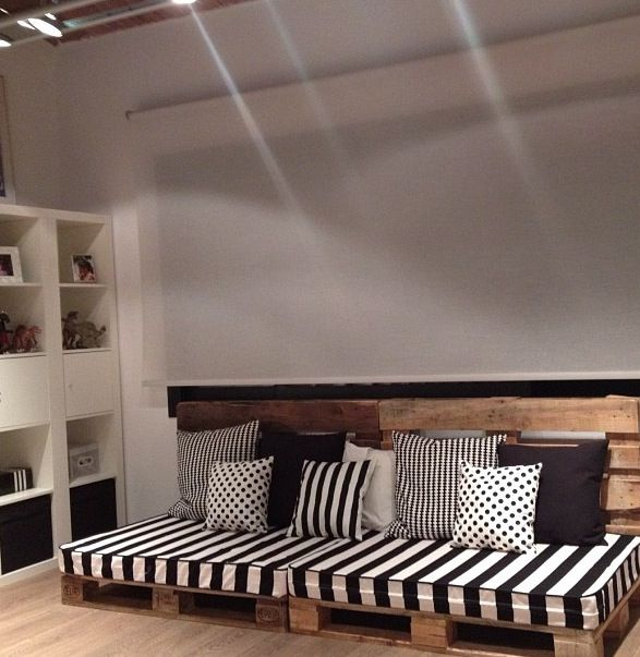 17 best ideas about sofa palets on pinterest pal s sof - Sofa con palet ...