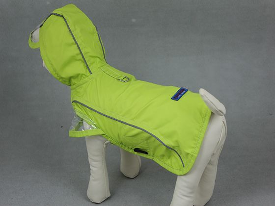 Dog Clothes - Fashion Waterproof Dog Raincoat-Green(PTS-007D) Wholesale Dog Clothing,Dog clothes,Dog clothing,Cheap dog clothes,Dog Collar,Dog Leash,Dog apparel,Dog bed, Dog shoes,vetement chien,manteau pour chien DogDug.com