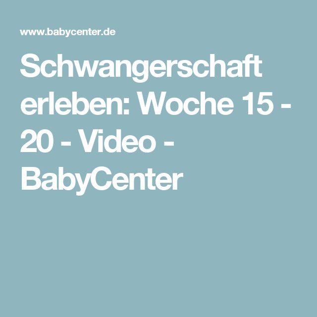 Schwangerschaft erleben: Woche 15 - 20 - Video - BabyCenter
