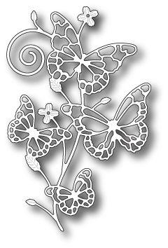 Memory Box - Die - Marielle Butterflies,$17.99