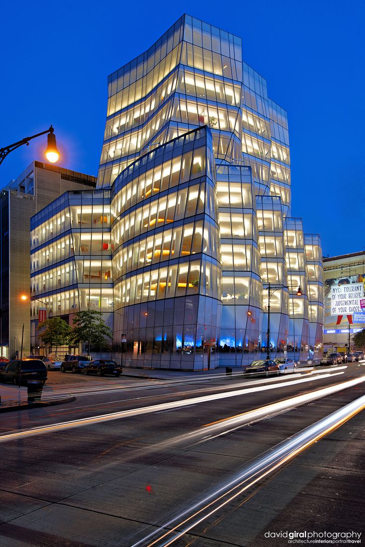 Ad classic norton house frank gehry archdaily - Rush Hour At Iac Building By Architect Frank Ghery Nikon D800 Nikkor 16 35mm
