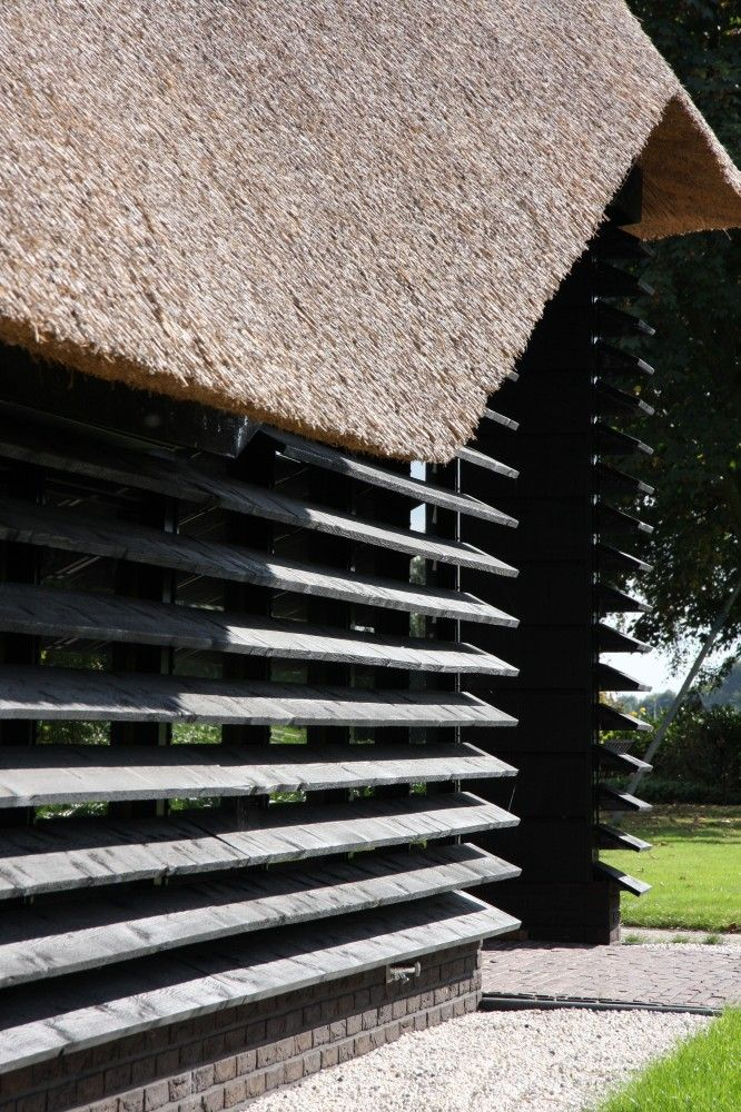 Flemish Barn Bolberg by Arend Groenewegen Architect, in Bavel, The Netherlands. 2009.