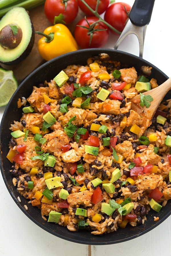 A creamy Mexican chicken and rice dish made in one skillet and packed with delicious flavors. Okay so confession time. This dish doesn't quite exactlylike these pictures! A couple months ago…