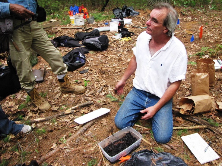 7/3/2011 King Philips War Dig with Kevin McBride - Photo taken by Coni Dubois