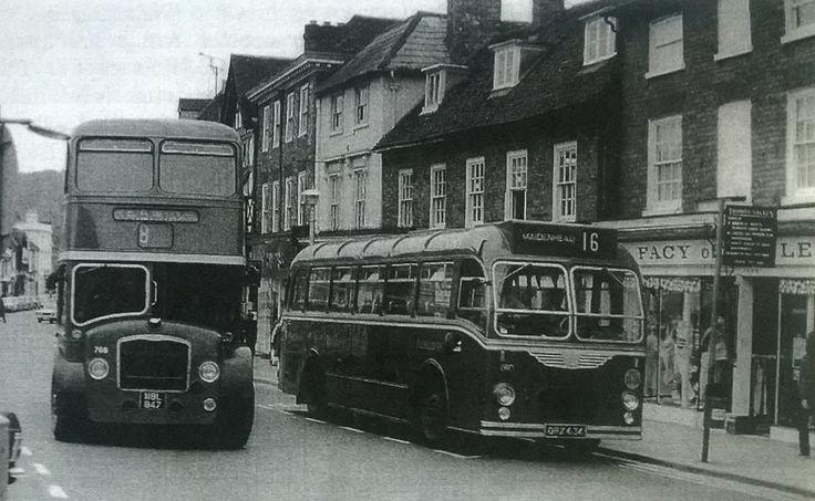 No. 8 Henley to Reading bus via Caversham. 1970's