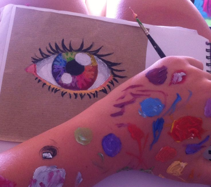 An eye for colour...