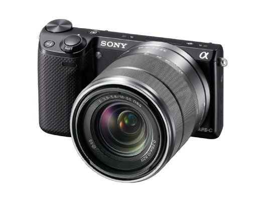 Amazon.com : Sony NEX-5R/B 16.1 MP Compact Interchangeable Lens Digital Camera with 3-Inch LCD - Body Only (Black) : Compact System Camera Bundles : Camera & Photo