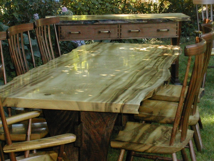 17 Best Images About Wood Slabs Furniture On Pinterest Mantles Wood Slab And Custom Dining