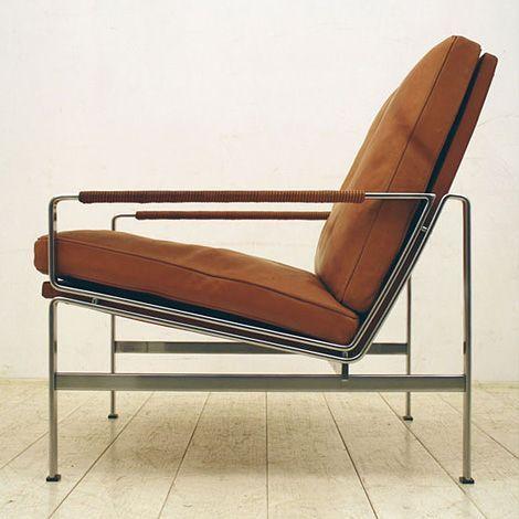 lifeonsundays: FK-6720 Lounge Chair by Preben Fabricius & Jørgen Kastholm for Kill International, 1960s.