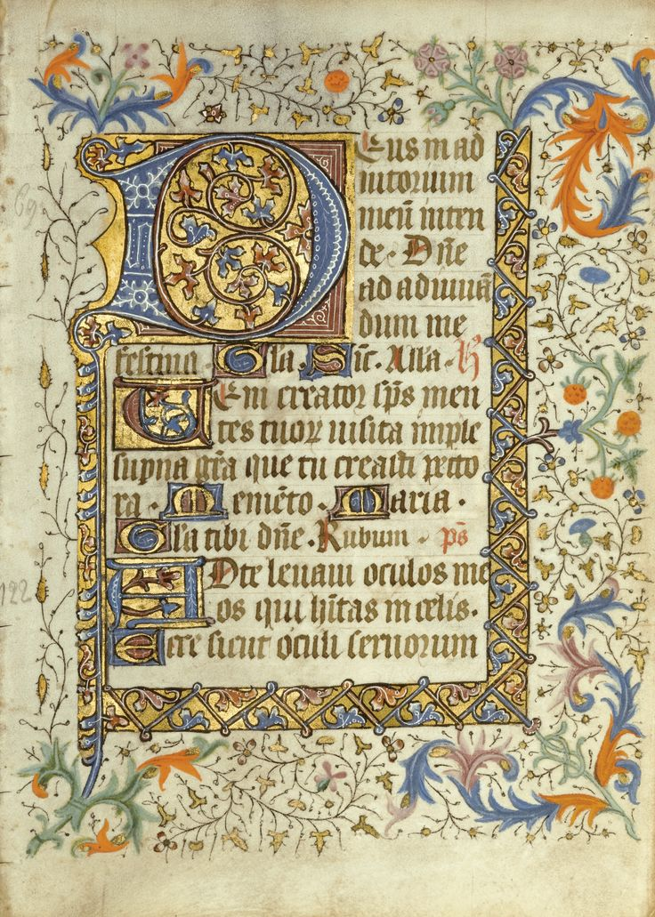 SOTW CH3 - Leaves from two illuminated manuscript Books of Hours, on vellum [French Flanders and Delft, fifteenth century] | lot | Sotheby's