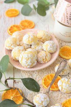 Zarte Orangen Bacios – Weiche Amarettinis   – backen