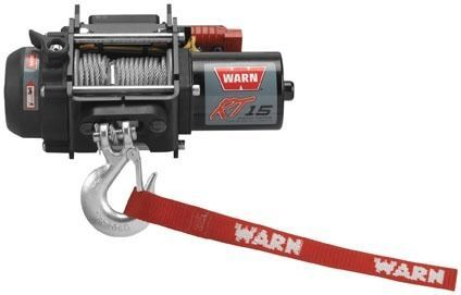 Warn 1500 lb R15 Portable Winch with 25 ft. Steel Cable  86380