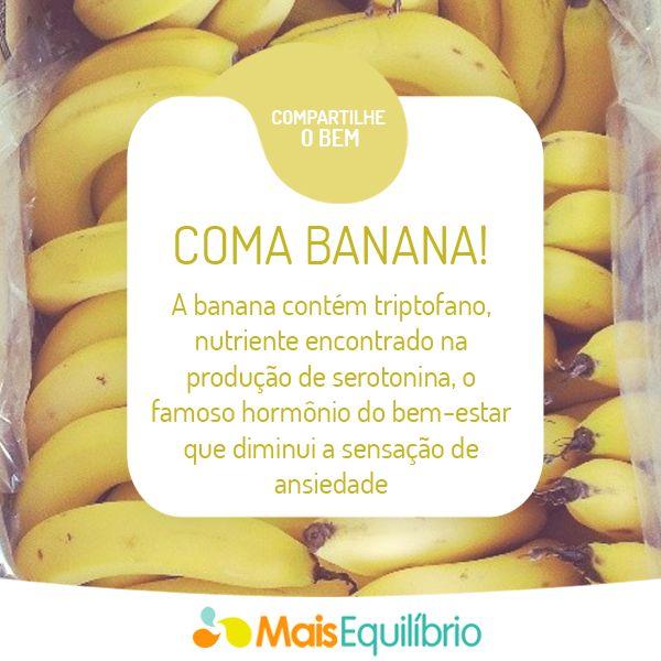Dê uma banana para a ansiedade! http://maisequilibrio.com.br/saude/olha-a-banana-ai-5-1-4-452.html