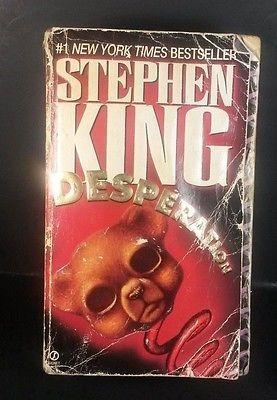 Desperation by Stephen King (1997, Paperback) *DB-14*