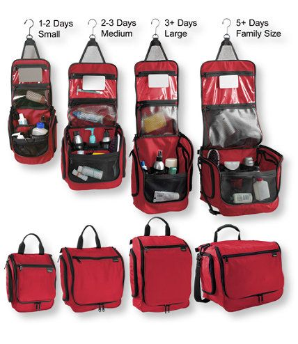 I Want to buy monogrammed ones for each of the boys. What colors? What size?  Needs to be something they'll use for many yrs. Personal Organizer Toiletry Bag, Large: Toiletry Bags | Free Shipping at L.L.Bean