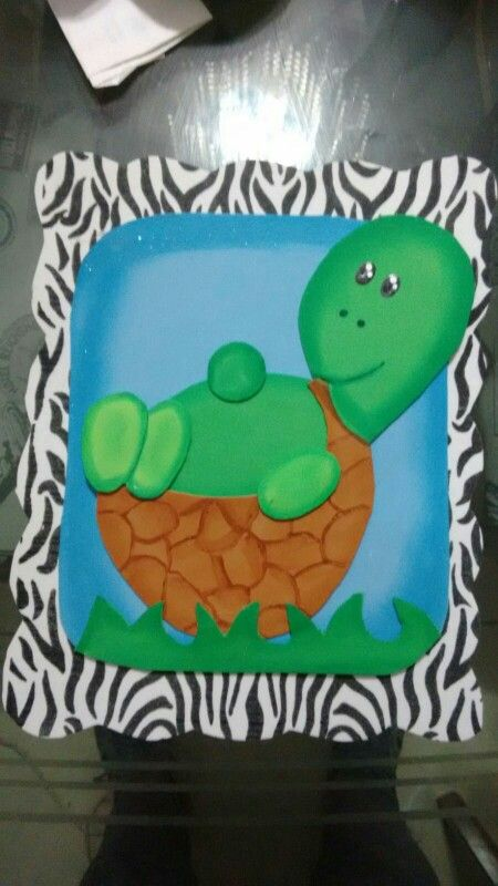 Tortuga animal print