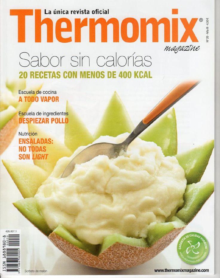 Rev. Thermomix magazine nº 20. Sabor sin calorías