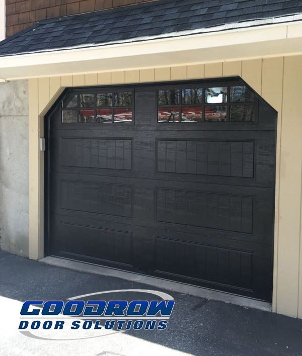 best garage doors clopay gallery series carriage style garage door we recently installed in hingham ma black