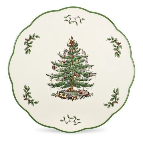 Spode Christmas Tree has graced table's all over the world since 1938. The pattern has become a family tradition and feature's a traditional christmas tree design. Each year this beautifully classic pattern heralds the beginning of a season of family and friends gathering, and seasonal... - http://kitchen-dining.bestselleroutlet.net/product-review-for-spode-christmas-tree-cheese-plate-or-trivet/