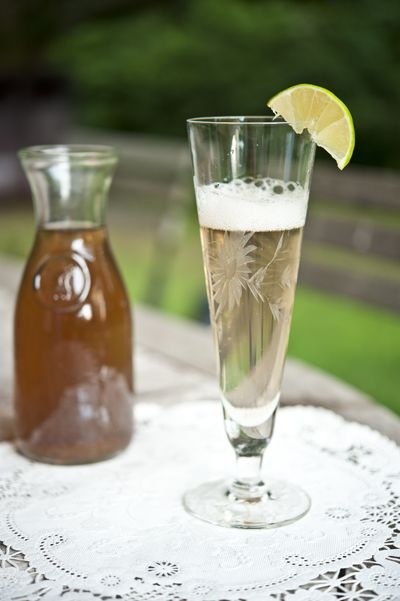 Elderflower syrup recipe. This is why I want to plant elderberry bushes this year!