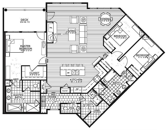 Breckenridge BlueSky Condos Plans Map