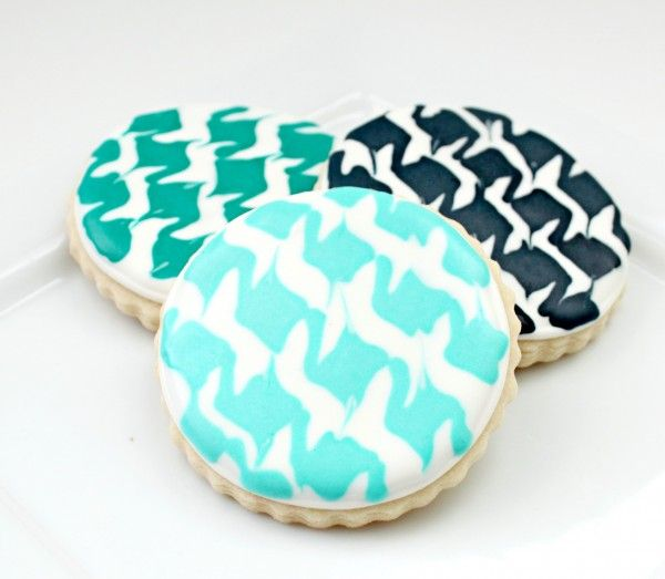 Houndstooth cookies...roll tide!