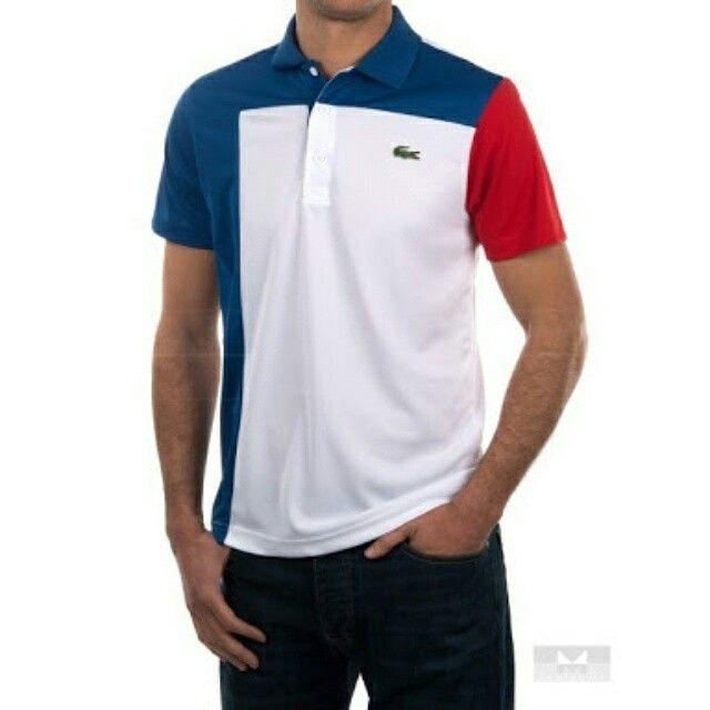Polo shirt pria, bahan lacoste cotton, bordir komputer. Www.konveksi.biz