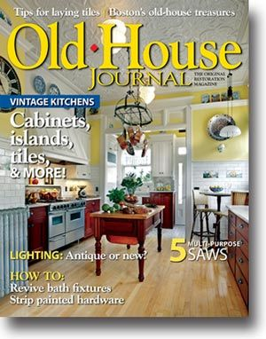 Old House Journal   June/July 2012 Tips For Laying Tiles Bostonu0027s Old House  Treasures Vintage Kitchens Cabinets, Islands, Tiles U0026 More!