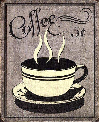 Retro Coffee I by N. Harbick art print