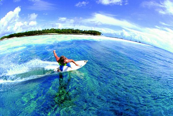 The best surf spots in the Maldives