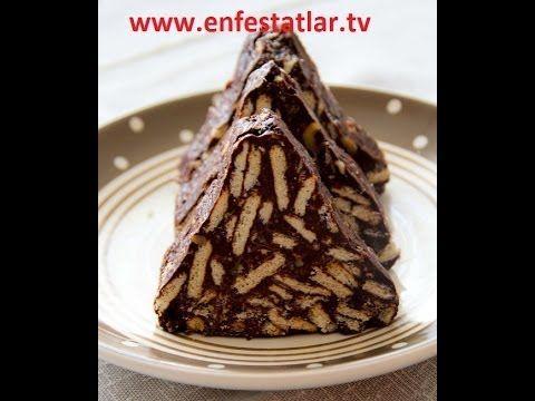Çikolata Kremalı Mozaik Pasta | Semen Öner Yemek Tarifleri - YouTube