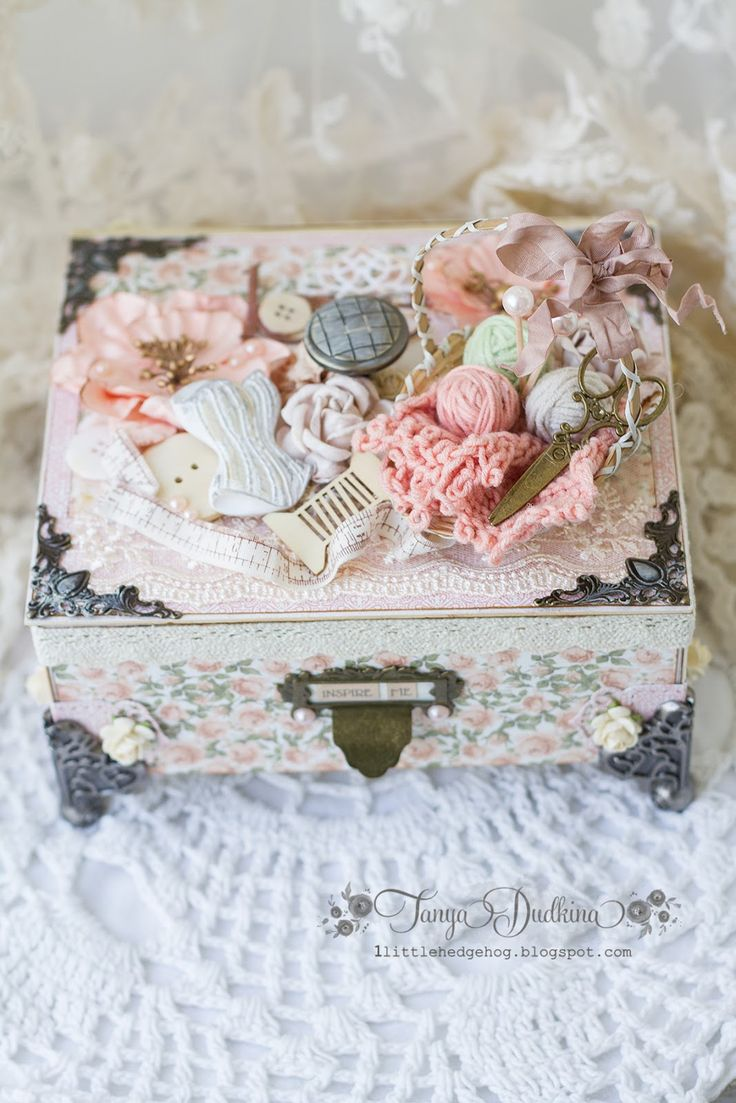 1155 best images about altered boxes shabby chic on pinterest sewing box cutting files and. Black Bedroom Furniture Sets. Home Design Ideas