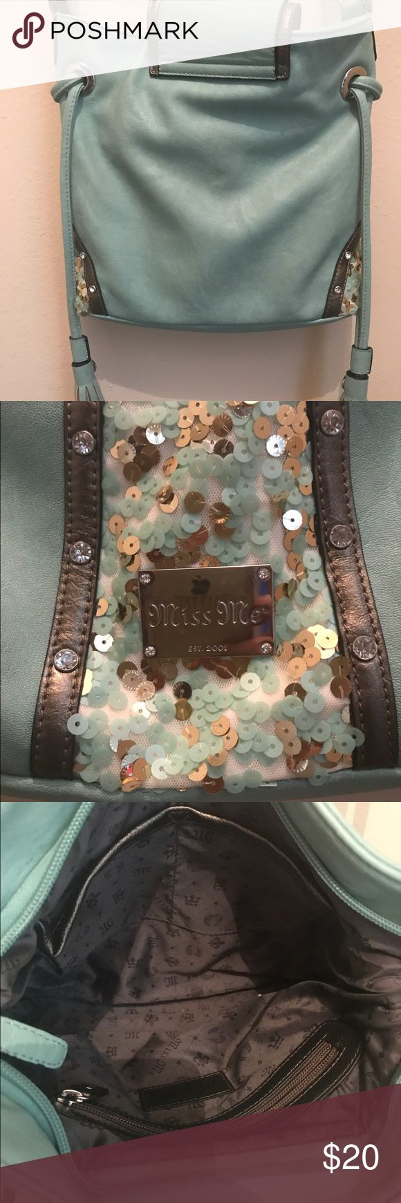 Torquiest Miss Me Purse Torquiest Miss Me Purse with Sequins Miss Me Bags Crossbody Bags
